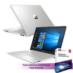 PC Portable HP 15-dw3001nk  - i3 11è Gèn - 4Go - 256 Go SSD - Silver (2R0L7EA6)