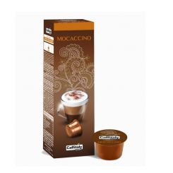 Paquet de 10 Capsules  CAFFITALY   MOCACCINO