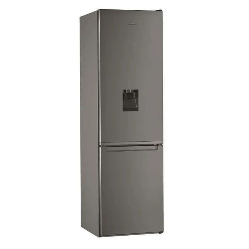 Réfrigérateur combiné -  W7911IOXAQUA - WHIRLPOOL - Inox - 360L AVEC FONTAINE