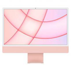 Apple iMac 24''  Retina 4.5K - Puce M1 - 8Go - 256Go SSD -Pink (MJVA3FN/A)