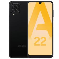 "Smartphone Samsung Galaxy A22 4Go -  64Go - 6.4"" - Double SIM - Noir"