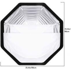 SOFTBOX PLIABLE EB-072 90CM
