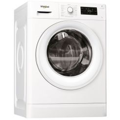 Lave Linge Frontale WHIRLPOOL Fresh Care 7 Kg Blanche (FWG71253WNA)