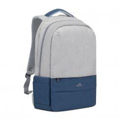Sac à dos pour ordinateurs portables Backpack 17.3 pouces RIVACASE 7567- GREY-BLEU