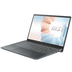 PC Portable MSI Modern 14 B11MO-046XFR - i7 11è Gén 8Go - 512Go SSD - Gris