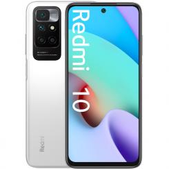 Smartphone Xiaomi Redmi 10  - 4Go + 128Go 4G Double SIM - Blanc